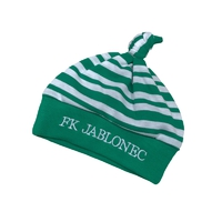 Striped baby cap